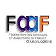 Logo de la Fédération des aveugles et amblyopes de France Gard-Lozère