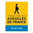 Logo de la Fédération des aveugles de France Val de Loire
