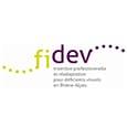 Logo de l'association rééducation et insertion pour déficients visuels