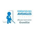 Logo de la Fédération des aveugles Alsace Lorraine Grand Est
