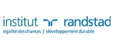 Logo de l'Institut Randstad, égalité des chances et développement durable