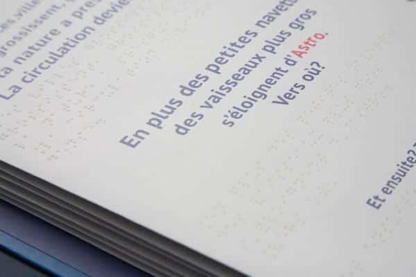 livre en braille